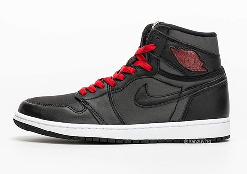 Air Jordan 1 Satin Black Gym Red Release Date