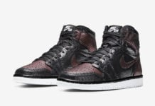 Air Jordan 1 WMNS Fearless Black Metallic Rose Gold CU6690-006 Release Date Info