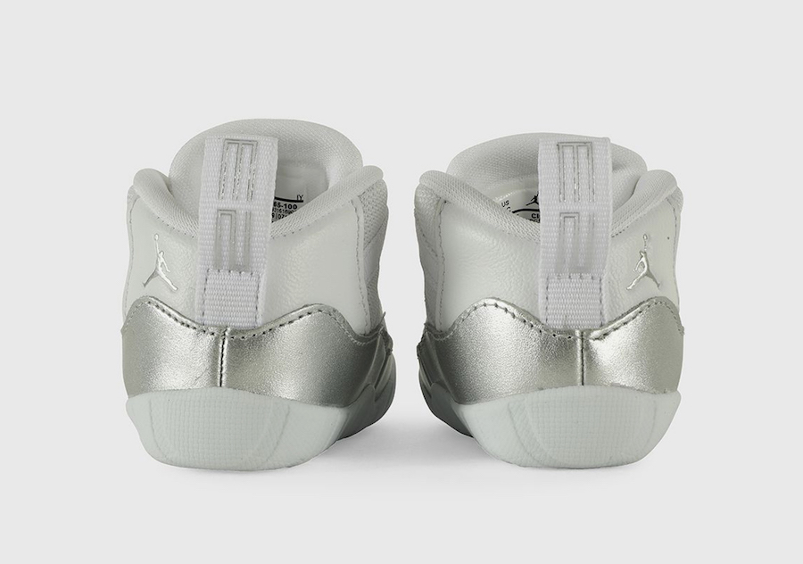 Air Jordan 11 Infant Metallic Silver CI6165-100 Release Date Info