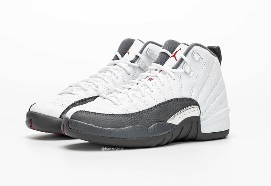 Air Jordan 12 'Dark Grey' Releases
