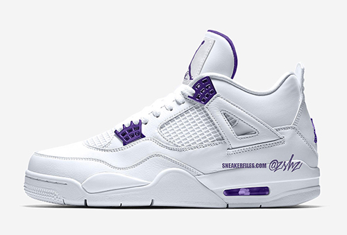 Air Jordan 4 Court Purple Release Date