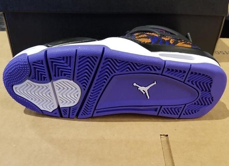 Air Jordan 4 GS Tiger Camo Rush Violet BQ9043-005 Release Date