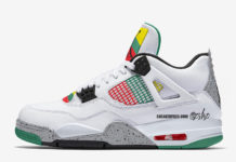 Air Jordan 4 WMNS Do The Right Thing Rasta AQ9129-100 Release Date Info