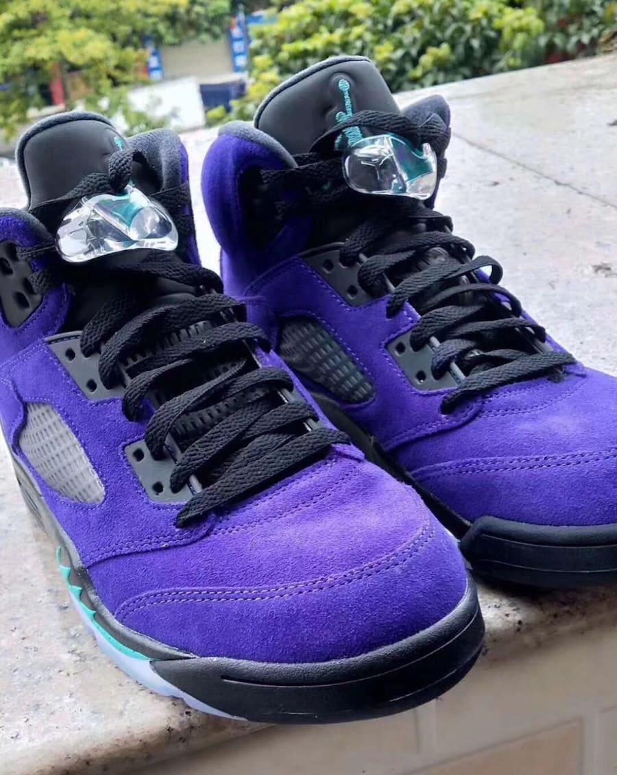 Air Jordan 5 Alternate Grape 136027-500 Release Date