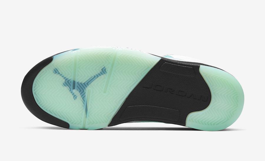 Air Jordan 5 Island Green CN2932-100 Release Date