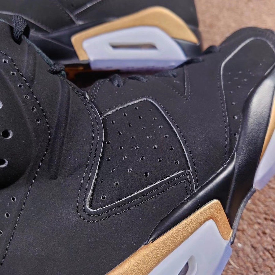 Air Jordan 6 DMP Black Gold CT4954-007 2020 Release