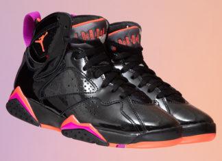 Air Jordan 7 Patent Leather WMNS 313358-006 Release