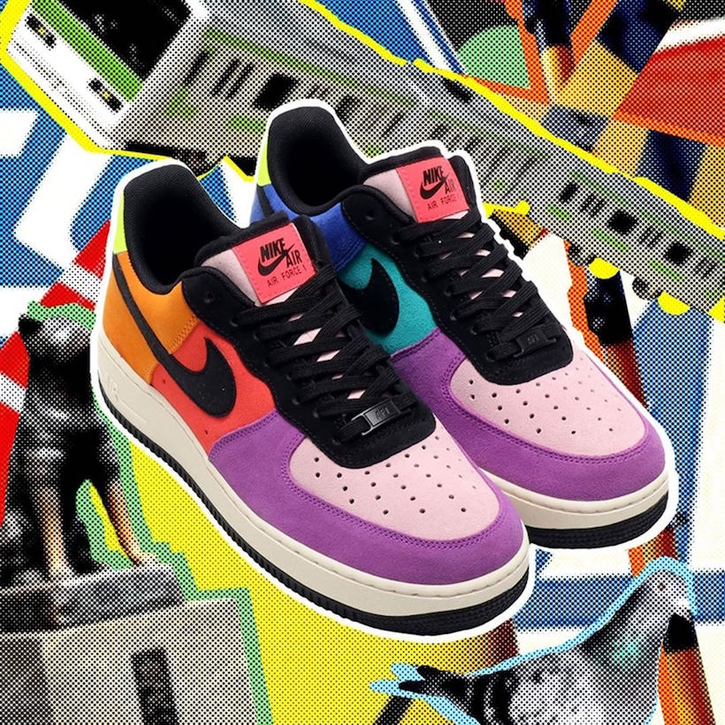 atmos Nike Air Force 1 Pop The Street Collection Release Date Info