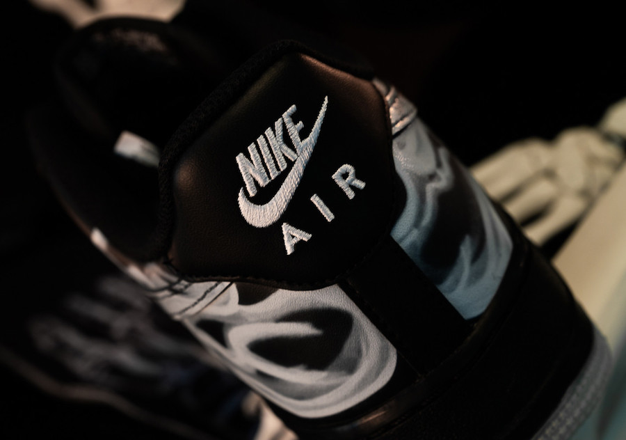Black Skeleton Nike Air Force 1 BQ7541-001 2019 Release Date