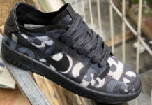CDG Comme des Garcons Nike Dunk Low