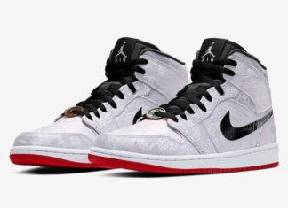 CLOT Air Jordan 1 Mid Fearless CU2804-100 Release Price