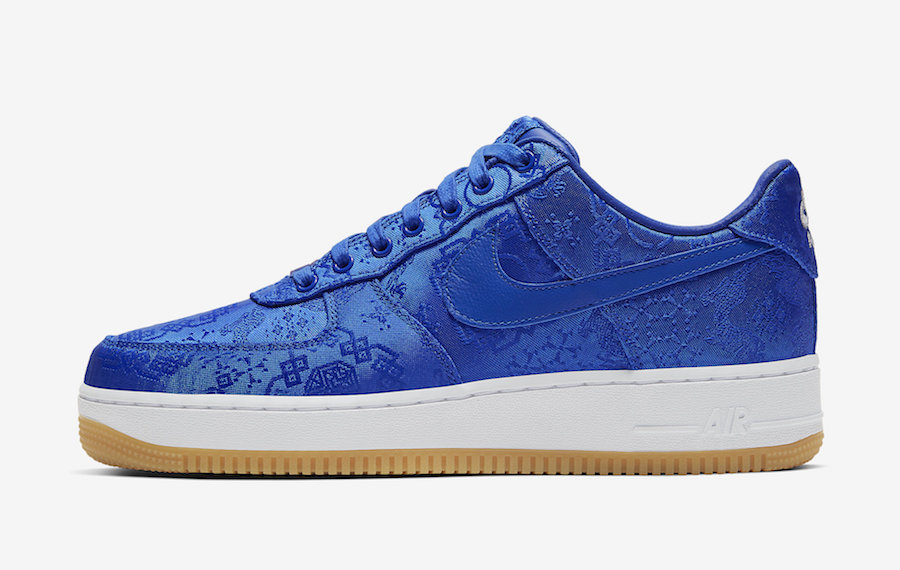 Clot Nike Air Force 1 Blue CJ5290-400 Release