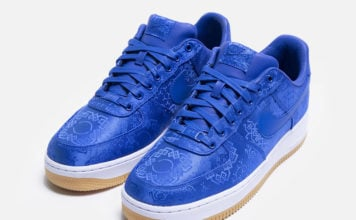 Clot Nike Air Force 1 Royal University Blue Silk Release Date Info