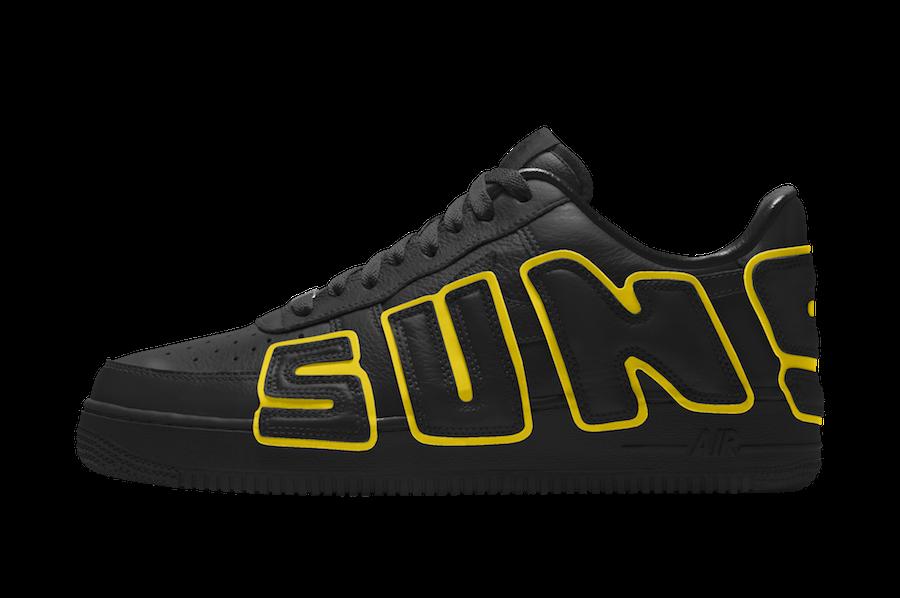 CPFM Nike Air Force 1 Black Yellow