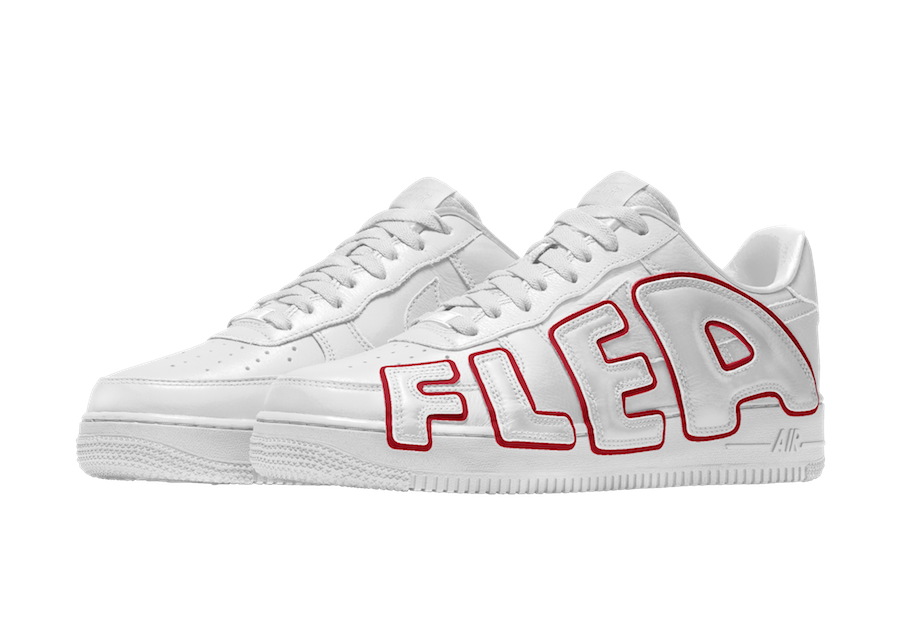 CPFM Nike Air Force 1 White Red