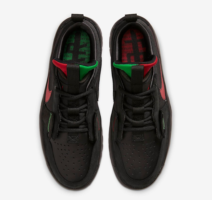Ghetto Gastro Air Jordan 1 Low React Fearless CT6416-001 Release Date