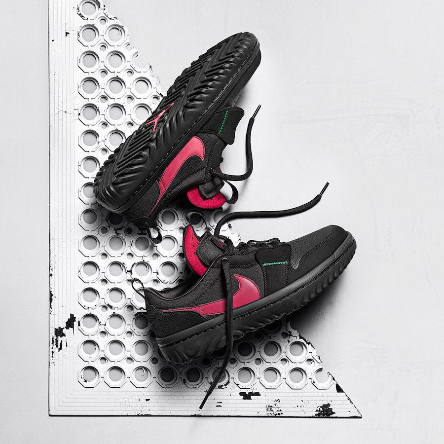 Ghetto Gastro Air Jordan 1 Low React