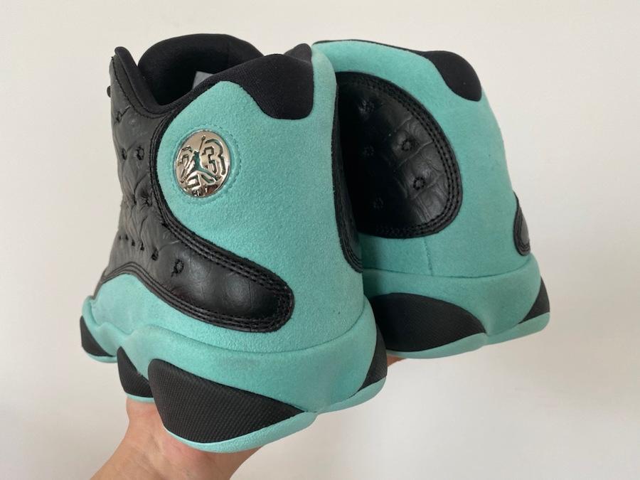 Island Green Air Jordan 13 414571-030 Release