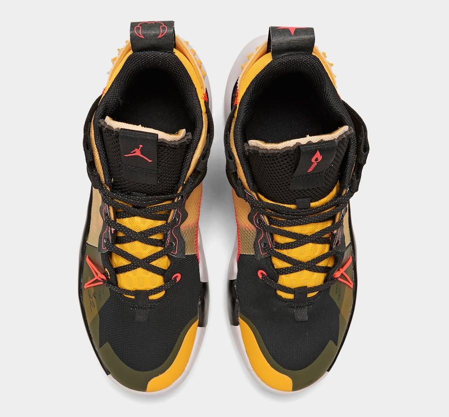 Jordan Why Not Zer0.2 Black Flash Crimson Amarillo Vast Grey AQ3562-002 Release Date Info