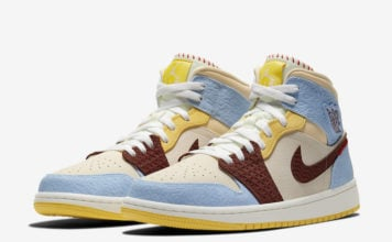 Maison Chateau Air Jordan 1 Mid Fearless CU2803-200 Release Date