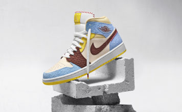 Maison Chateau Air Jordan 1 Mid Fearless Release Date Info