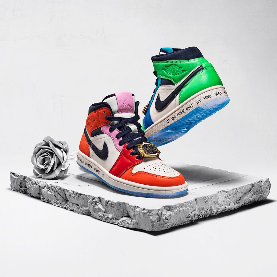 all'ingrosso online vendita a buon mercato usa nuova stagione Air Jordan 1 Fearless Ones Collection Release Date Info | SneakerFiles