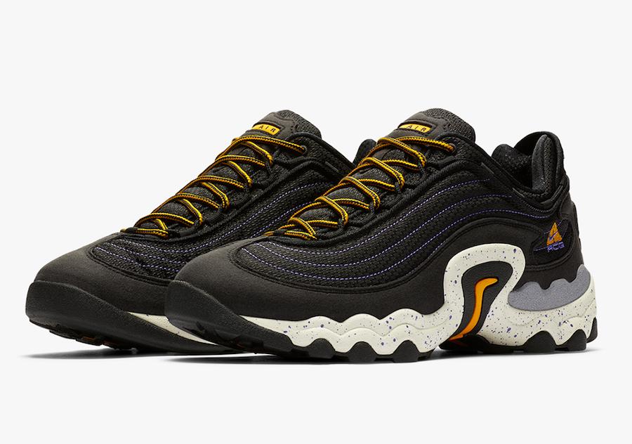 Nike ACG Skarn Black University Gold CD2189-002 Release Date Info | SneakerFiles