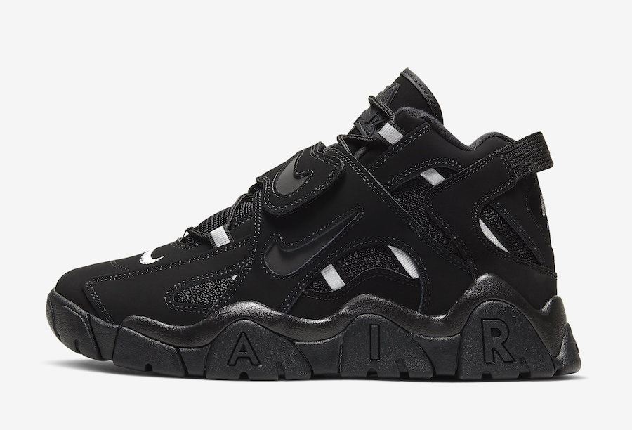 Nike Air Barrage Mid Black White AT7847-002 Release Date Info