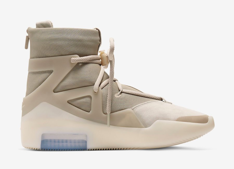 Nike Air Fear of God 1 Oatmeal AR4237-900 Release Date Info Price