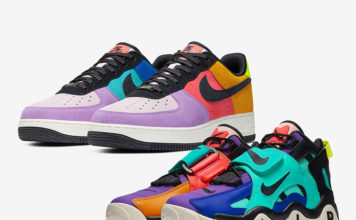 Nike Air Force 1 Air Barrage Mid Pop The Street Collection