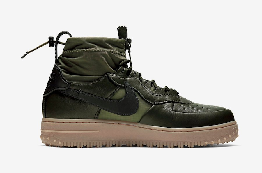 Nike Air Force 1 High Gore Tex in Olive and Gum | Getswooshed