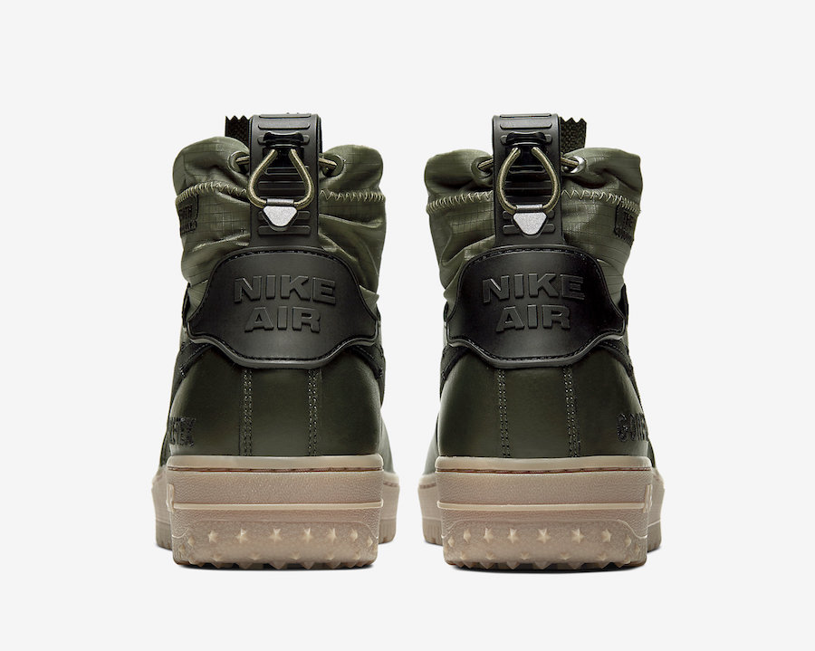 Nike Air Force 1 High Gore Tex in Olive and Gum   Getswooshed