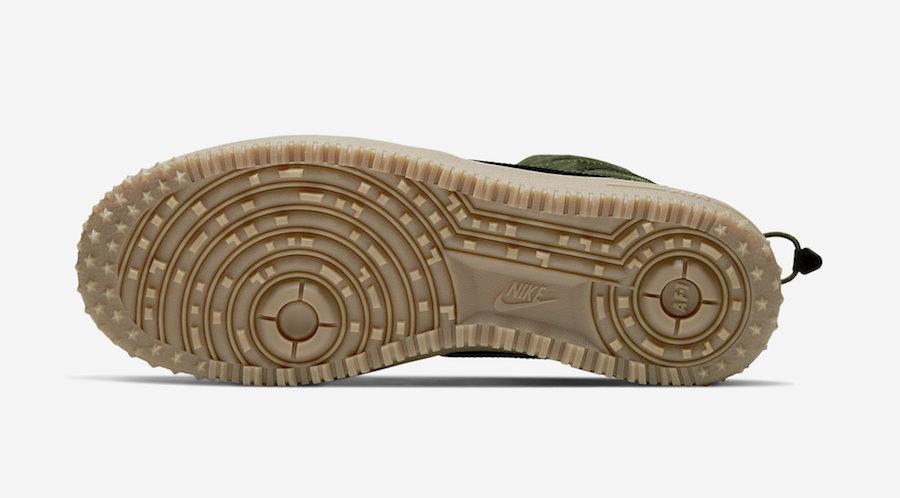 Nike Air Force 1 High Gore-Tex Olive Gum CQ7211-300 Release Date Info