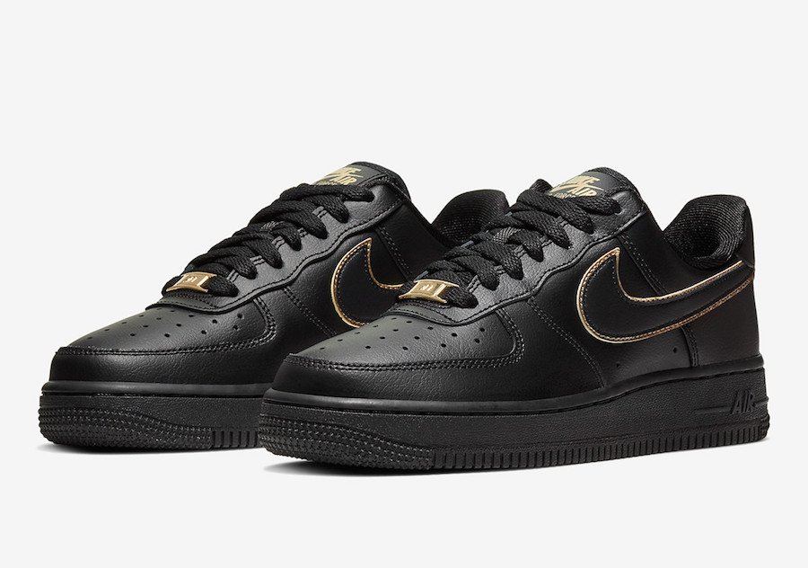 Nike Air Force 1 Low Gold Swoosh Pack Release Date Info Sneakerfiles