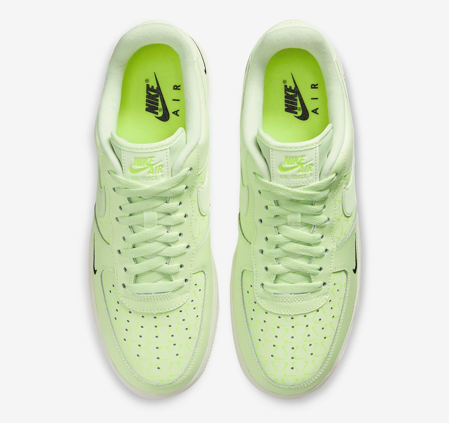 Nike Air Force 1 Low Neon Yellow CT2541-700 Release Date Info