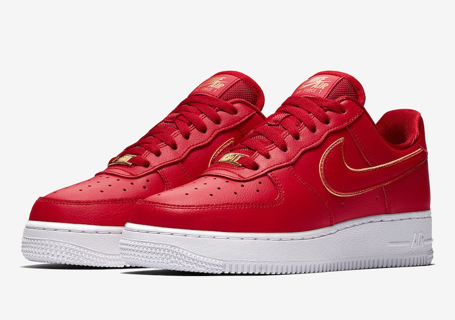 Nike Air Force 1 Low Red Gold AO2132-602
