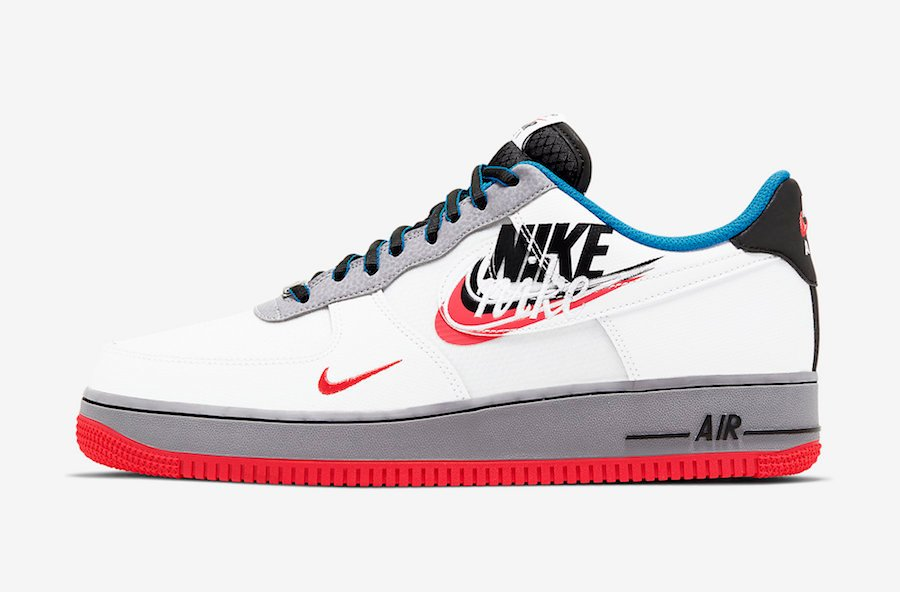 Nike Air Force 1 Low Script Swoosh CT1620-100 Release Date Info