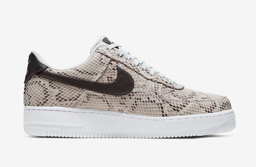 Nike Air Force 1 Low Snakeskin BQ4424-100 Release Date Info