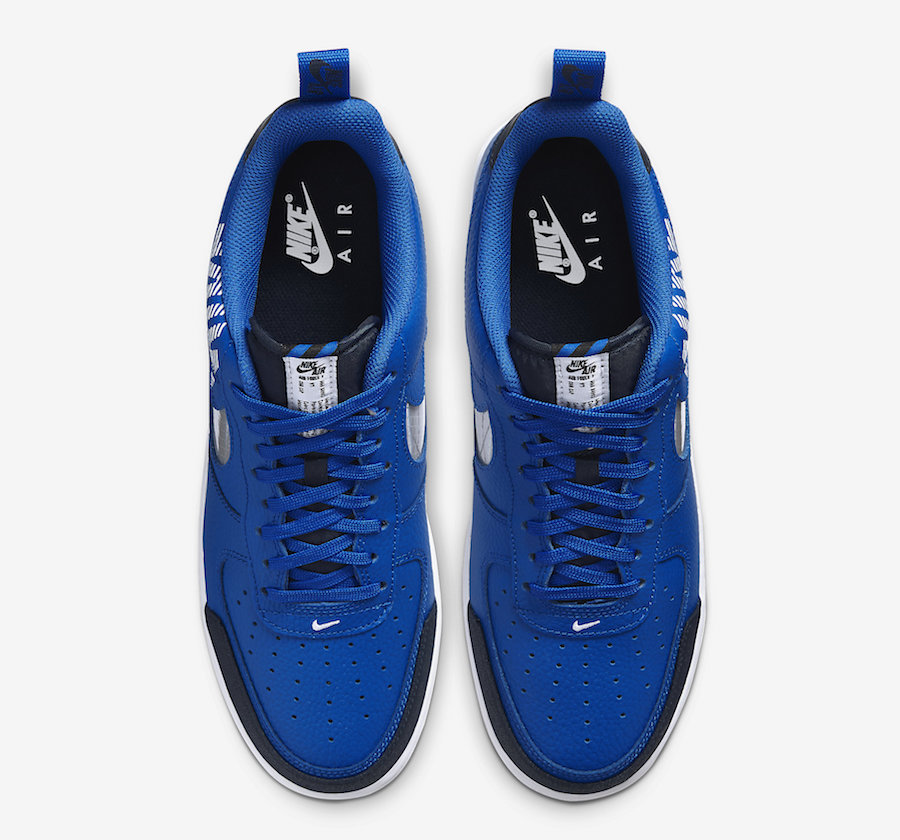 Nike Air Force 1 Low Under Construction Blue BQ4421-400 Release Date Info