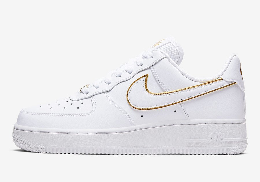 Nike Air Force 1 Low Gold Swoosh Pack