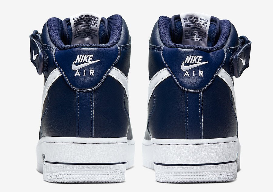 Nike Air Force 1 Mid Midnight Navy CK4370-400 Release Date Info
