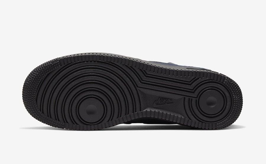 Nike Air Force 1 Mid Obsidian Dusty Peach BQ4592-400 Release Date Info