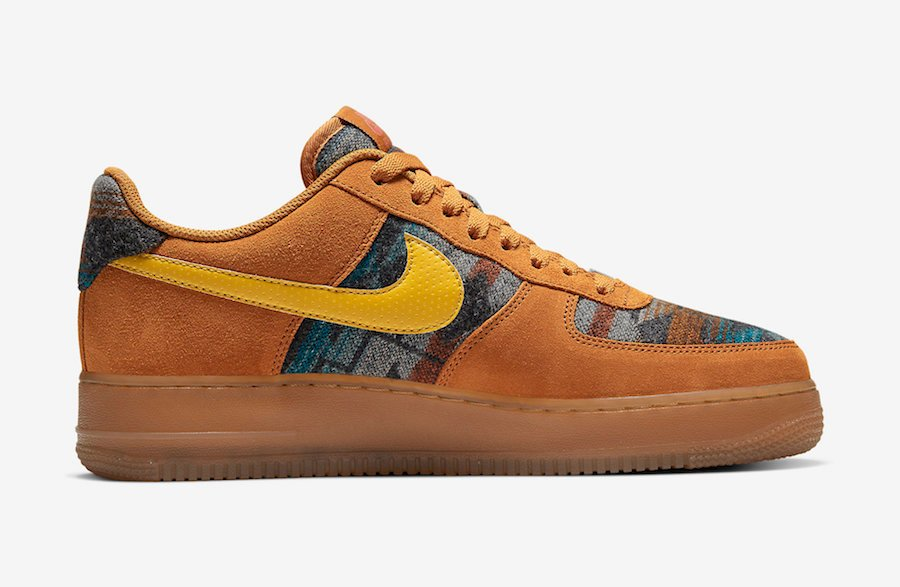 Nike Air Force 1 N7 Pendleton CQ7308-700 Release Date Info