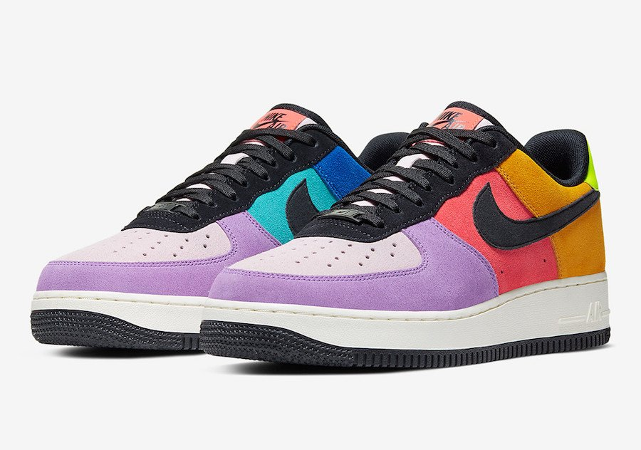 Nike Air Force 1 Pop The Street CU1928-304 Release Date