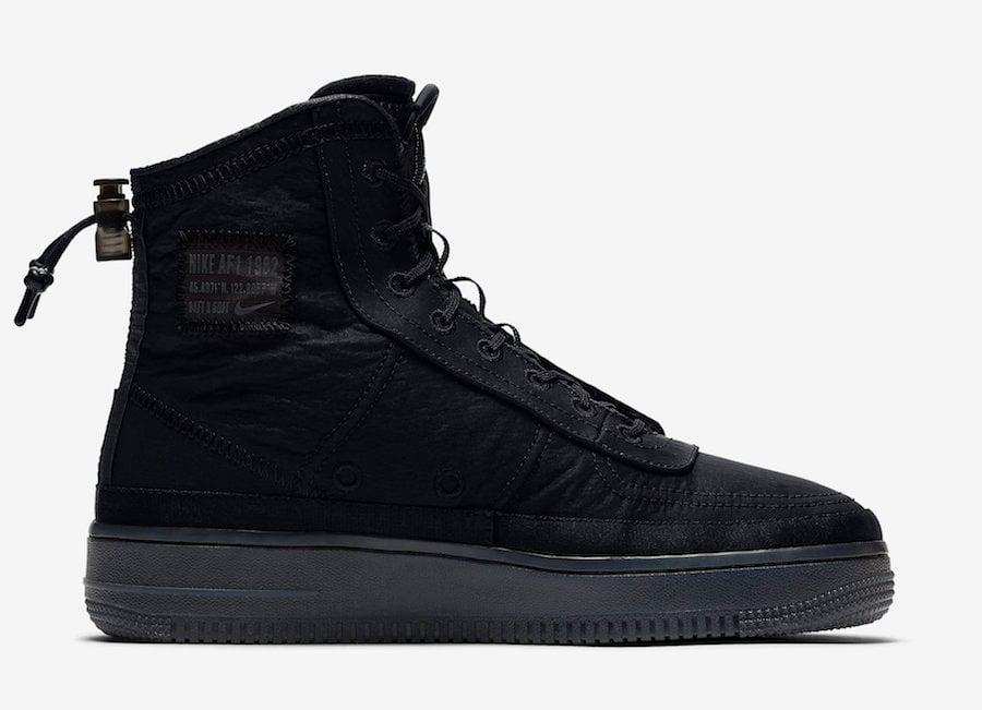 Nike Air Force 1 Shell BQ6096-001 Release Date Info