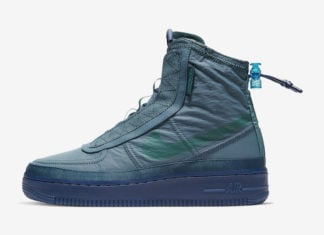 Nike Air Force 1 Shell Midnight Turquoise BQ6096-300 Release Date Info