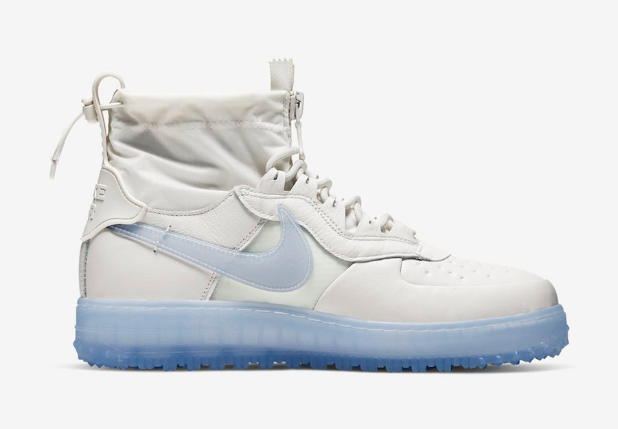Nike Air Force 1 WTR Gore-Tex Phantom White CQ7211-002 Release Date Info
