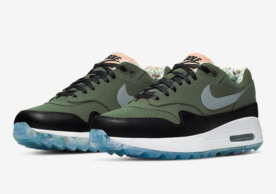 Nike Air Max 1 Golf Cargo Khaki CJ9903-308 Release Date Info | SneakerFiles
