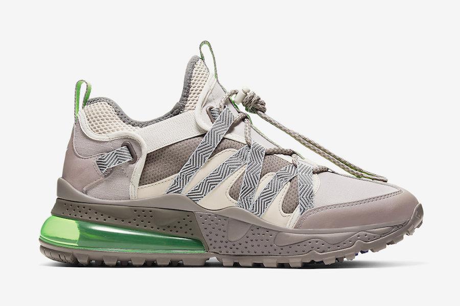 Nike Air Max 270 Bowfin Desert Sand Electric Green AJ7200-007 Release Date Info
