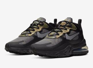 Nike Air Max 270 React Camo CT5528-001 Release Date Info
